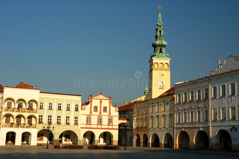 Download Town square stock photo. Image of open, place, centre - 7613540