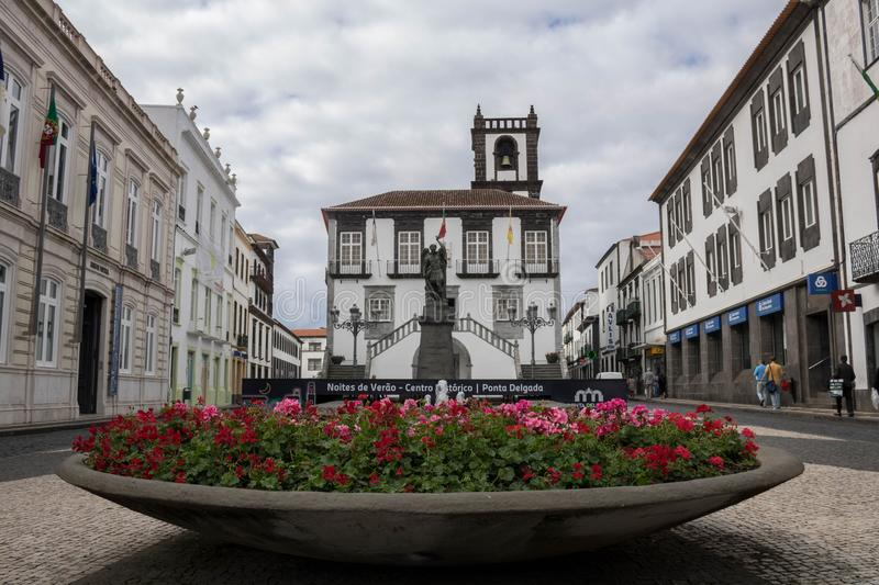 Town, Town Square, City, Flower royalty free stock images