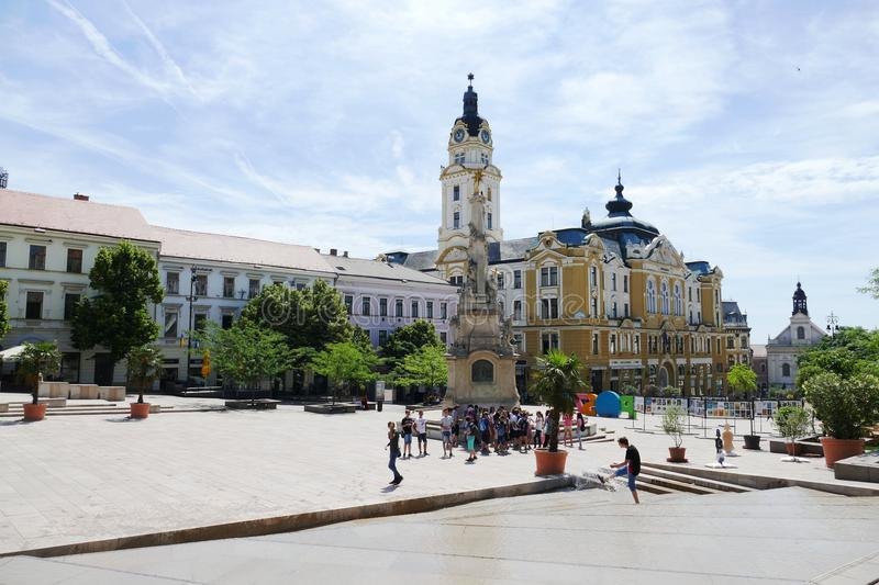 Town Square, Plaza, Town, City royalty free stock photos