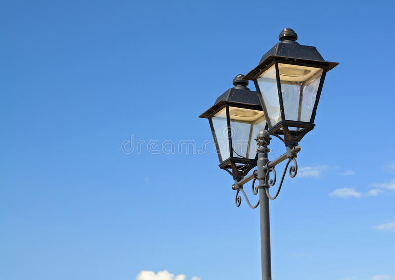 Download Town torch stock photo. Image of fashioned, metal, descriptive - 25564156
