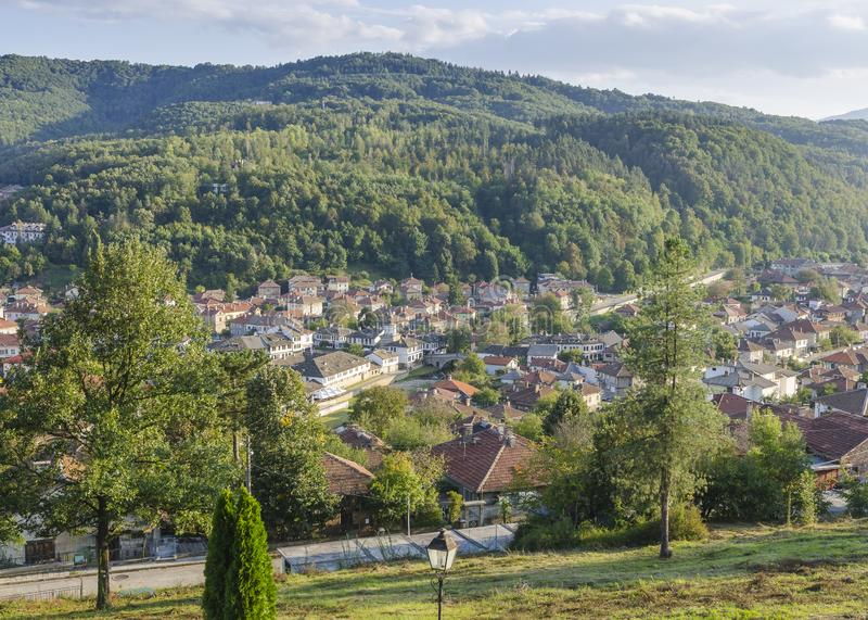 Town of Tryavna royalty free stock photography