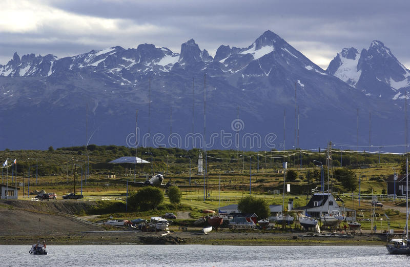 Download Town of ushuaia stock image. Image of bout, south, ushuaia - 13060079