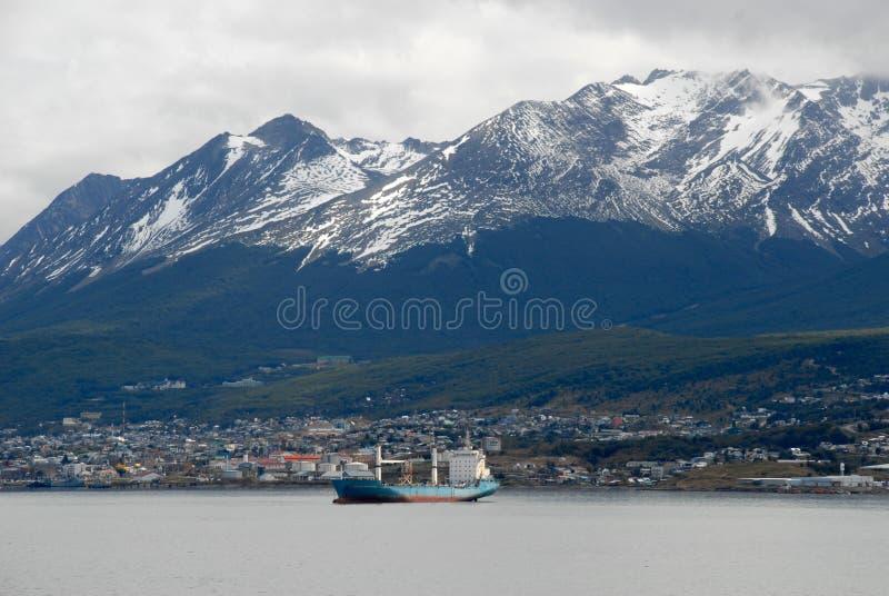 Town Ushuaia, Argentina, South America. royalty free stock photo