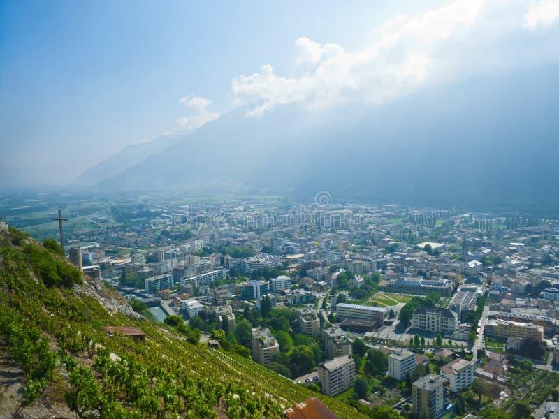 Martigny, Switzerland Royalty Free Stock Images