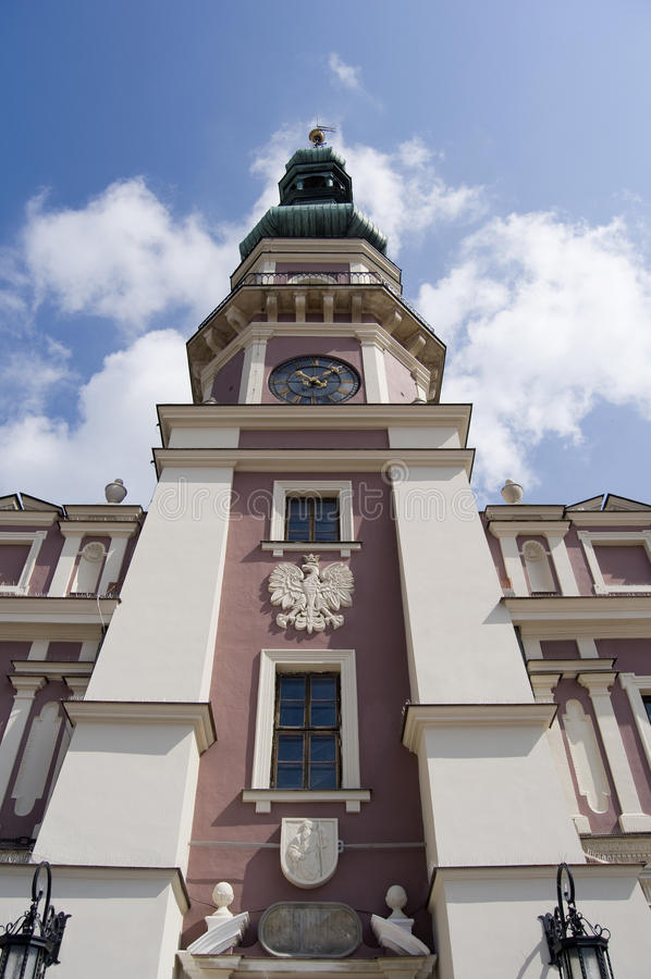 Town Zamosc Poland stock images