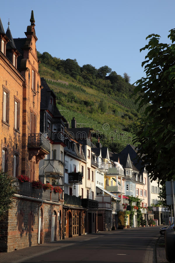 Download Town Zell, Germany Stock Photography - Image: 21105812
