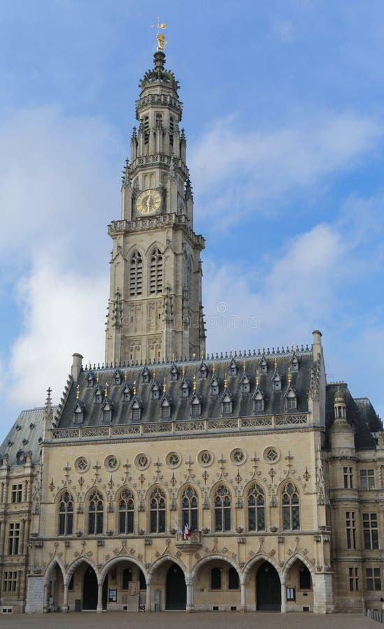 Townhall Arras στοκ φωτογραφίες