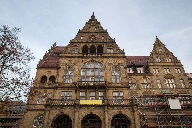 Download Townhall Bielefeld Alemanha Foto de Stock - Imagem de azul, arquitetura: 80100298