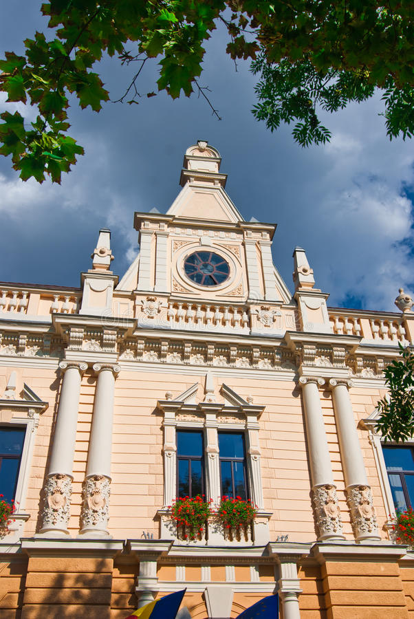 Townhall di Brasov, Romania fotografie stock libere da diritti