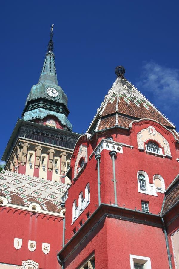 Townhall di Subotica fotografia stock libera da diritti