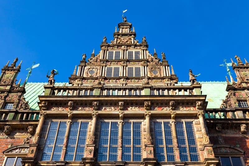 Townhall em Brema, Alemanha fotografia de stock