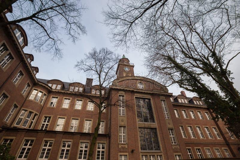 townhall herne Alemanha fotografia de stock