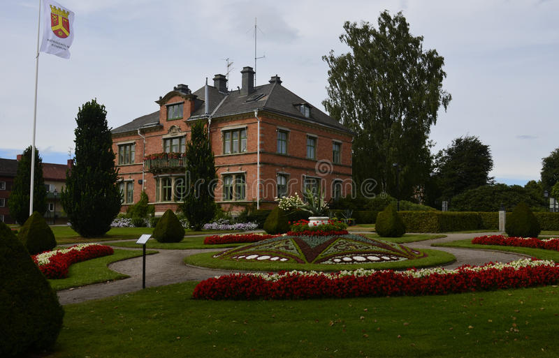 Townhall Katrineholm, Σουηδία στοκ φωτογραφία με δικαίωμα ελεύθερης χρήσης