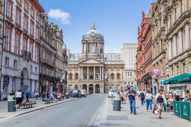 Townhall Liverpool de Streetview photographie stock libre de droits