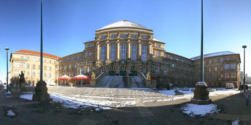 Townhall van Kassel, Duitsland stock afbeelding