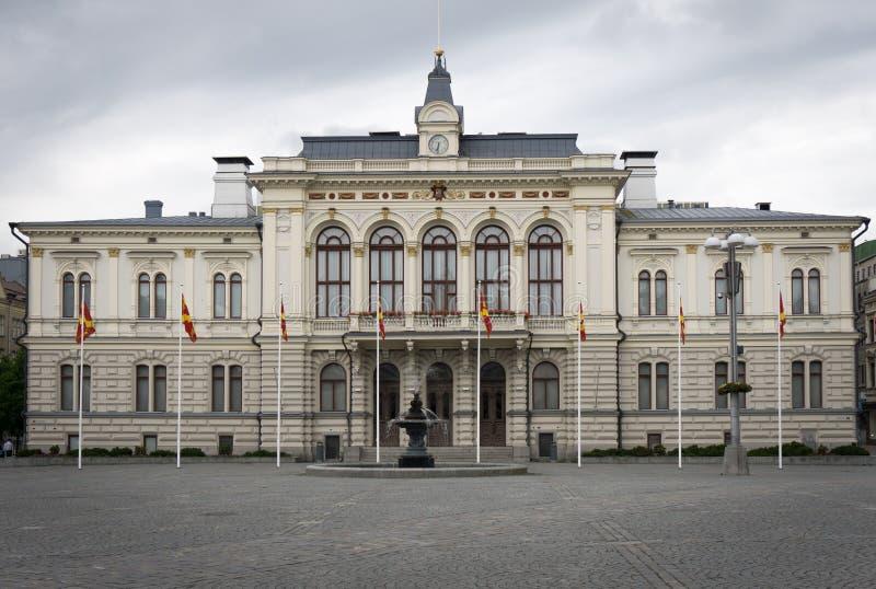 Townhall von Tampere lizenzfreies stockfoto