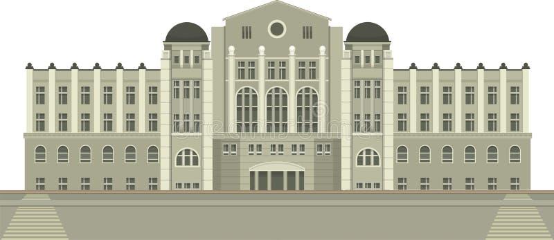 townhouse vector illustratie
