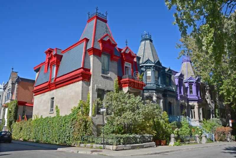 townhouse royalty-vrije stock afbeeldingen