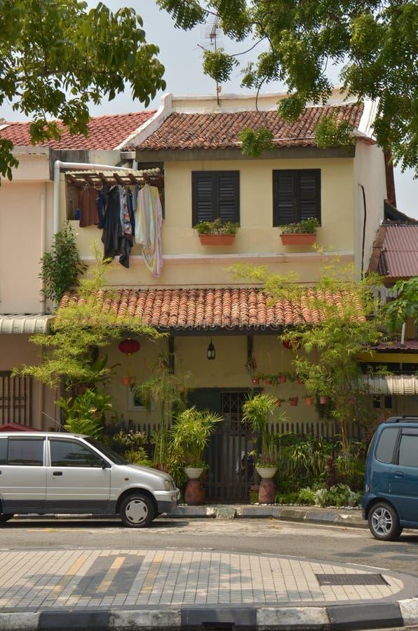townhouse stock afbeelding