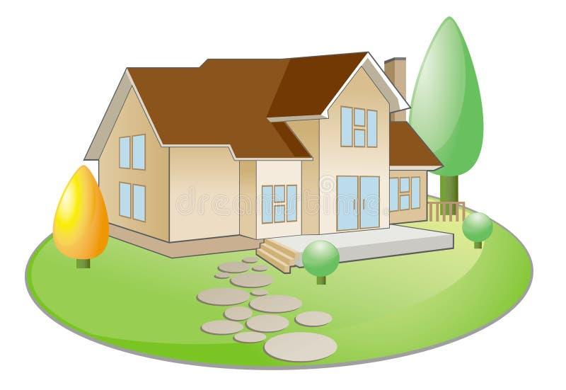 townhouse бесплатная иллюстрация