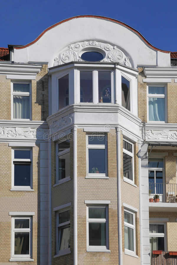 Download Townhouse Do Nouveau Da Arte Foto de Stock - Imagem de detalhe, germany: 29832434