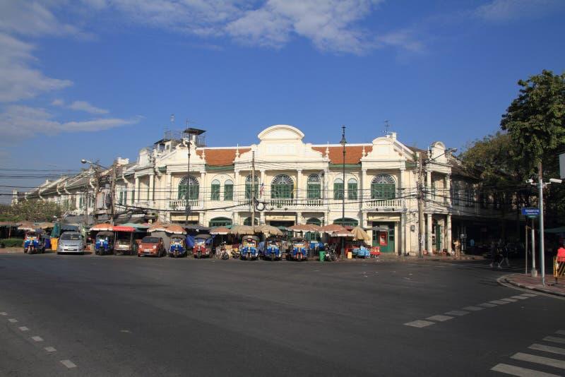 Townscape Бангкока стоковая фотография