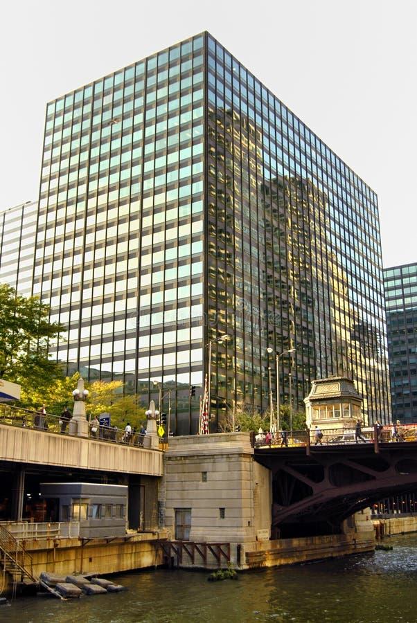 Townscape de Chicago photographie stock libre de droits