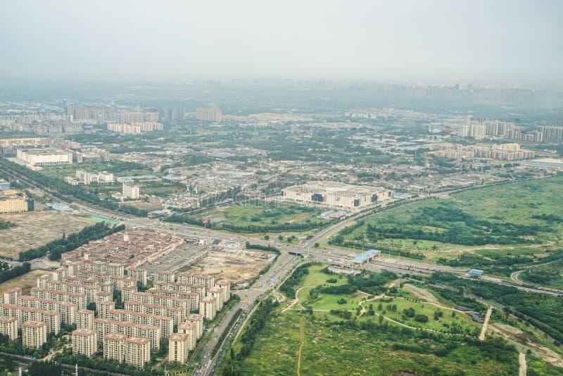 Townscape di Chengdu, Cina fotografia stock libera da diritti