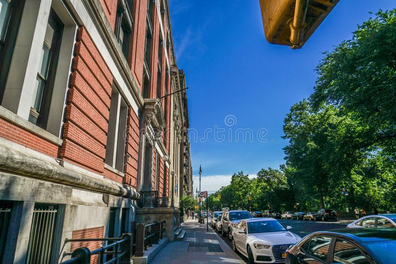 Townscape of Manhattan,New York royalty free stock photo