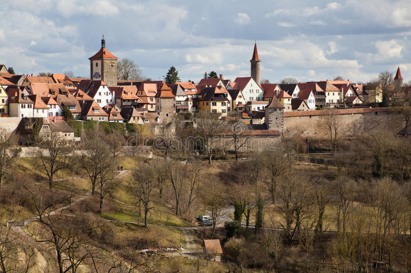 Download Townscape Of Rothenburg Ob Der Tauber Stock Image - Image: 29857723