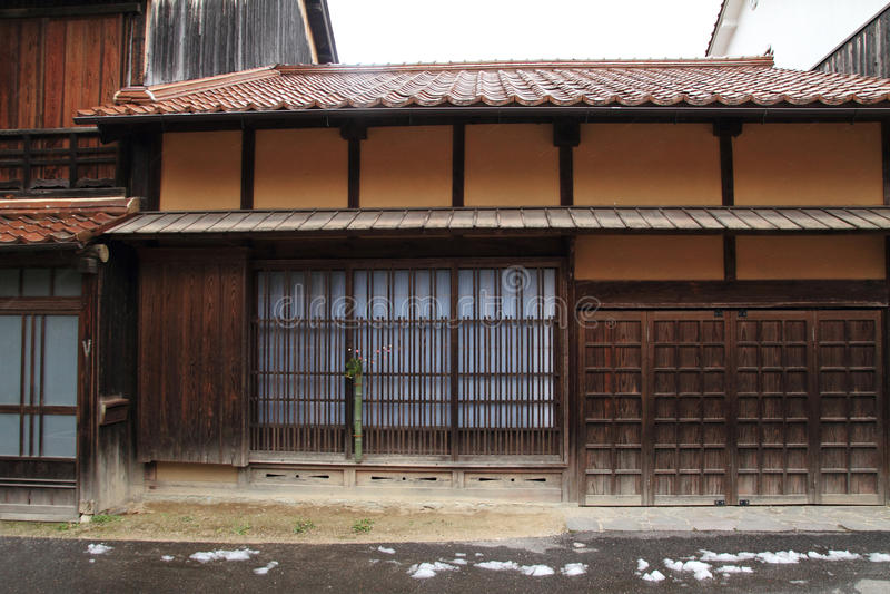 Download Townscape Von Omori-Zone In Ginzan Silberbergwerk Iwami (Welterbe) Stockbild - Bild von silber, schnee: 47101477