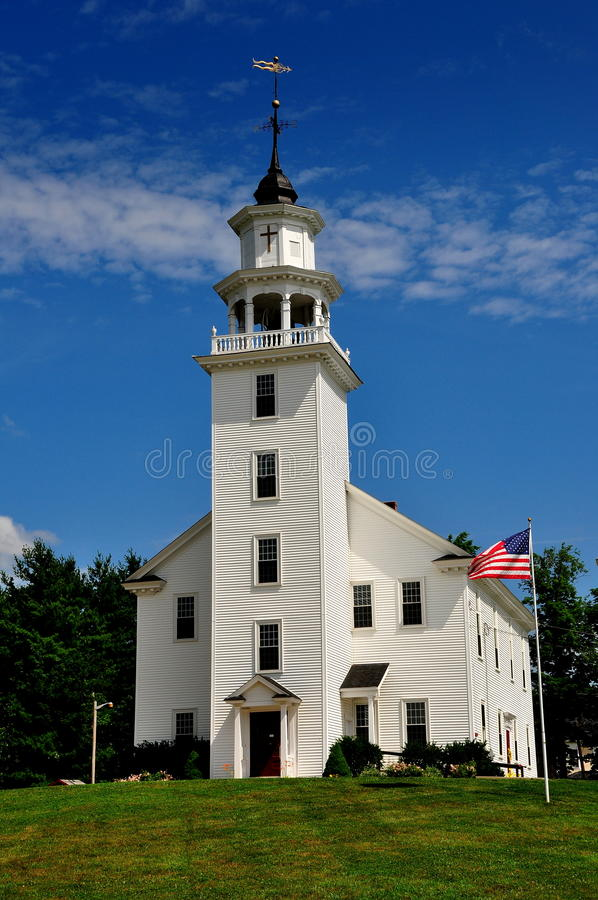 Download Townsend, MA: 1770 Townsend Second Meeting House Stock Image - Image: 32381655