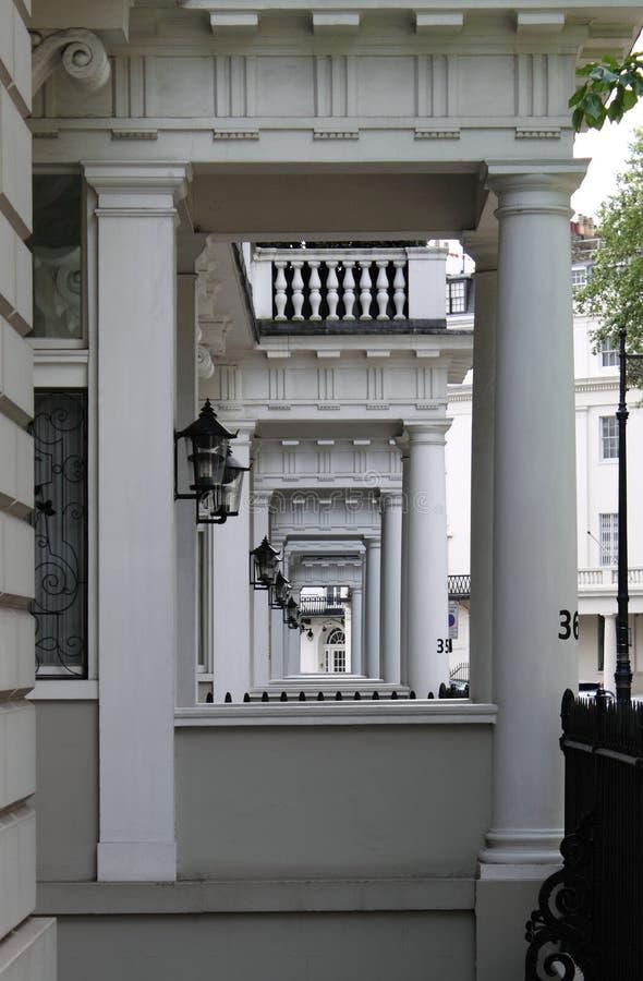 townshouses london стоковое фото