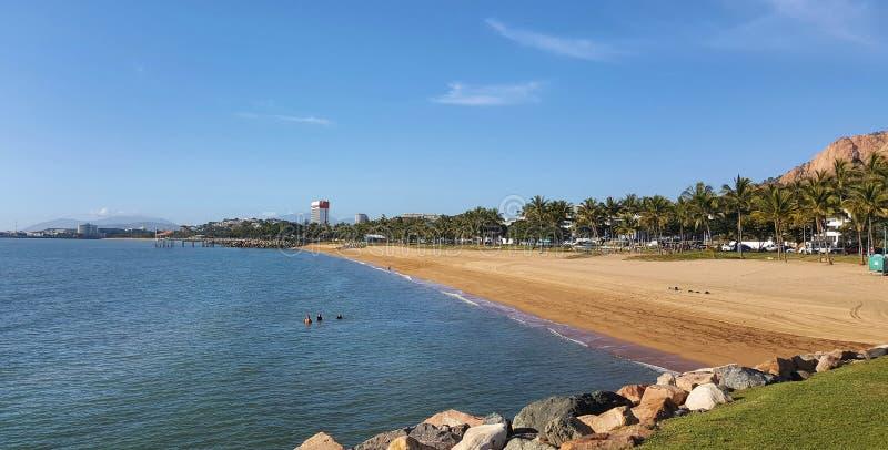Townsville plażowy frontowy widok zdjęcie royalty free