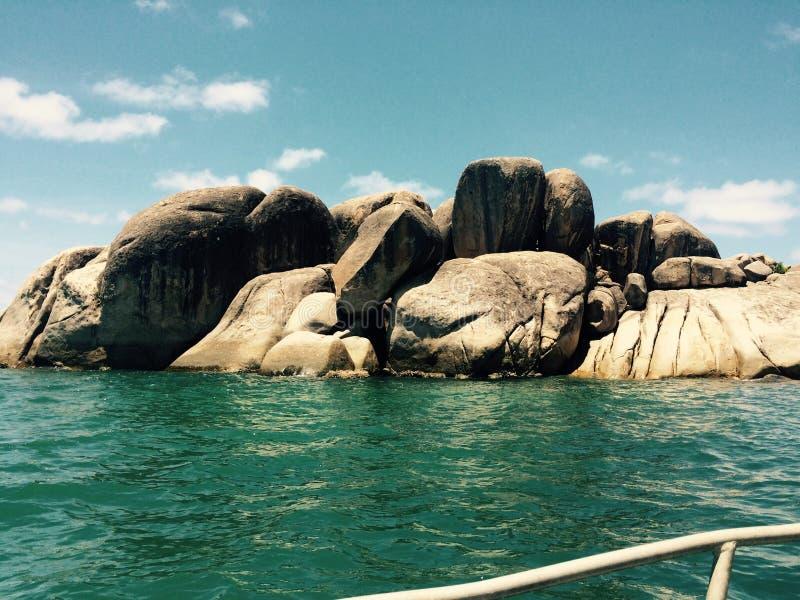 Townsville wyspy łodzi życie obraz royalty free