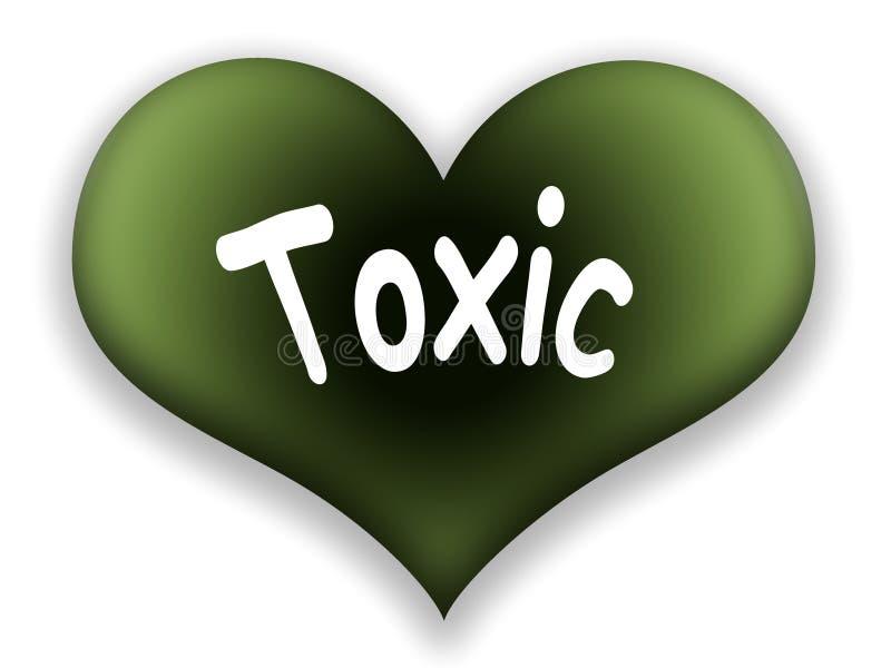 toxic сердца бесплатная иллюстрация