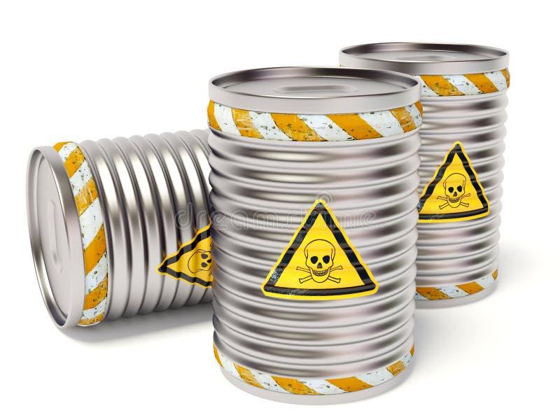 Toxic barrel stock illustration