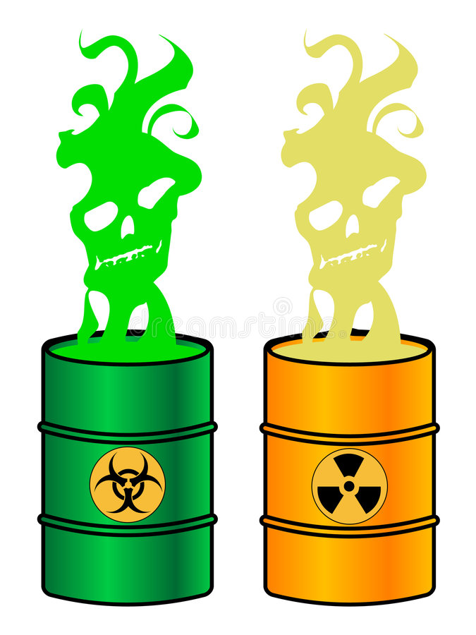 Download Toxic barrels stock vector. Illustration of recycling - 4819365