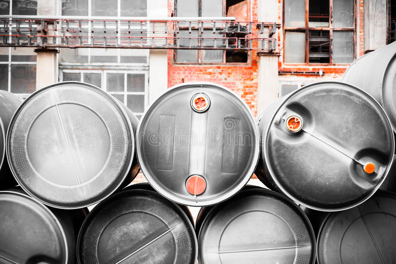 Download Toxic barrels stock image. Image of fuel, alley, fear - 36549111