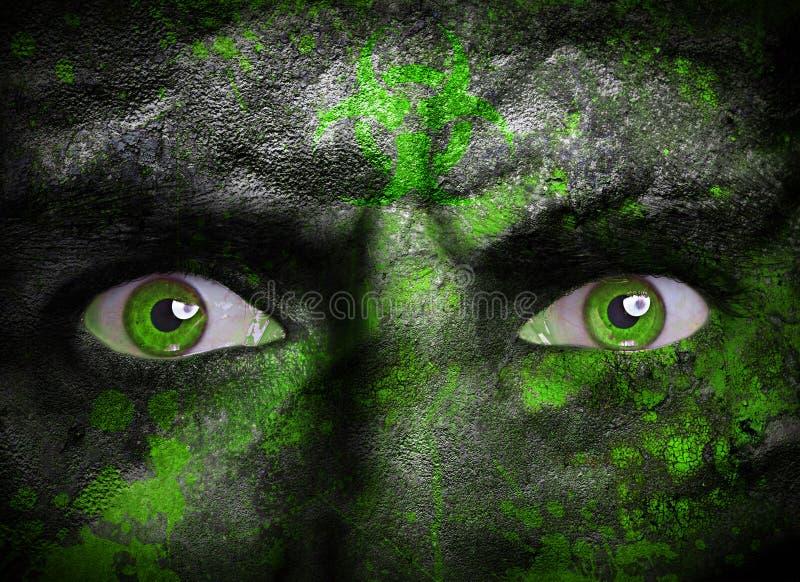 Toxic creature stock image