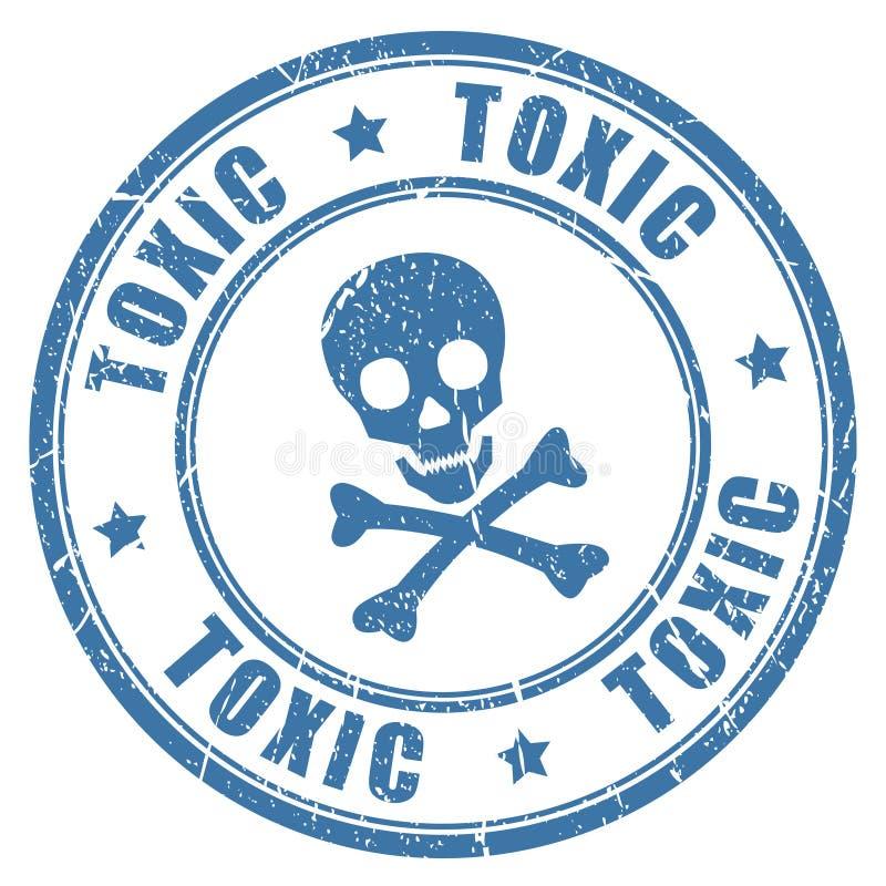 Free Toxic Danger Stamp Stock Images - 80683054