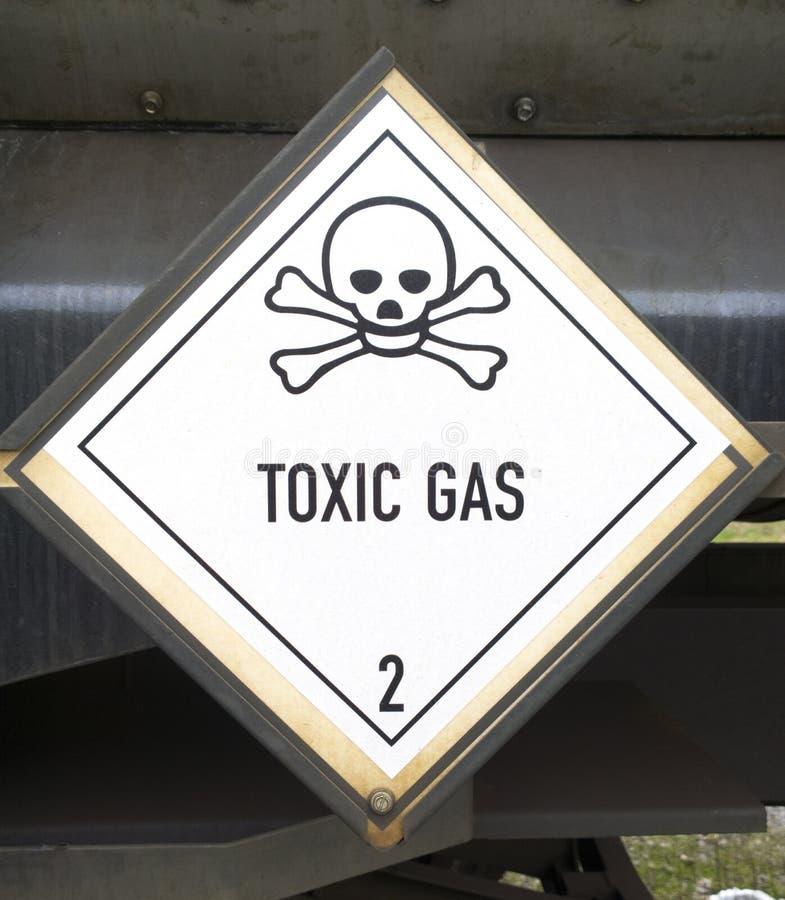 Toxic gas symbol. Photo of toxic gas symbol royalty free stock images