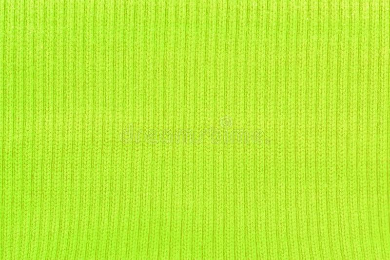 Toxic green grunge hard wool. Texture of toxic green grunge hard wool in high resolution stock photo