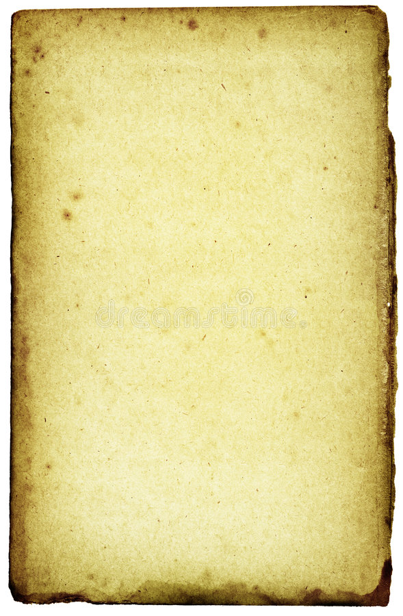 Toxic-grunge paper. Green stained rough toxic - grunge paper pattern on white background stock photo