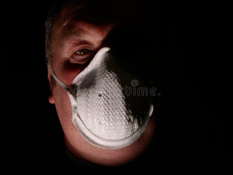 Toxic man stock photography