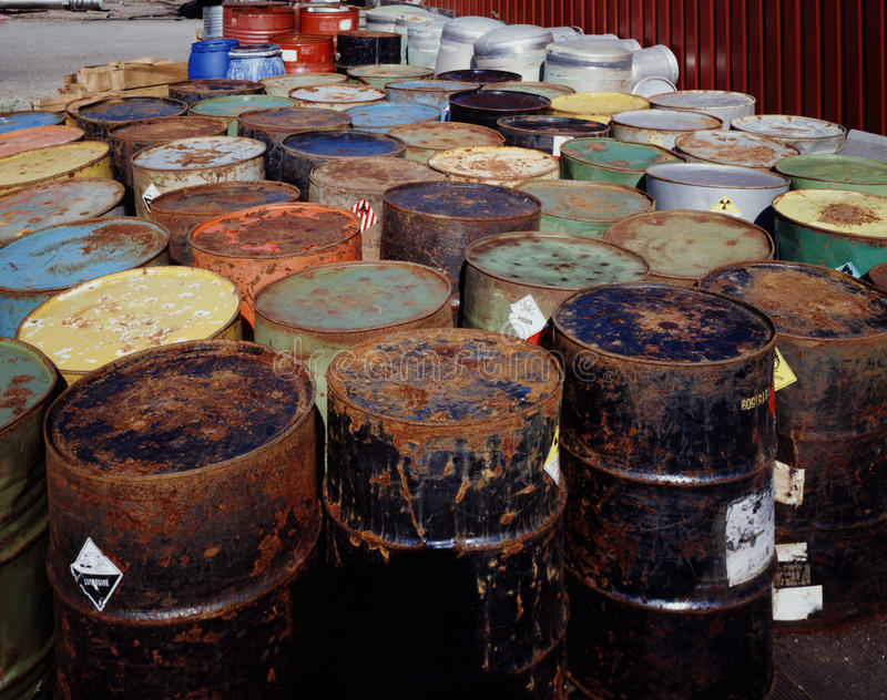 Download Toxic Waste stock photo. Image of drums, hazardous, chemicals - 15471738