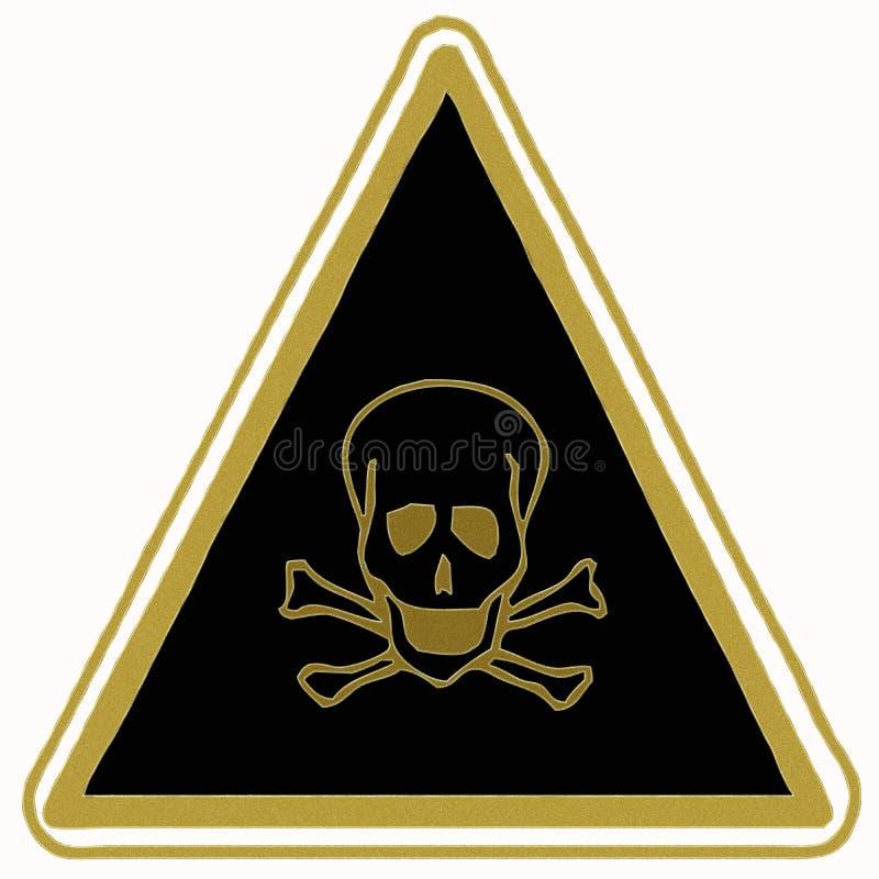 Download Toxicity sign stock illustration. Illustration of acid - 6834808