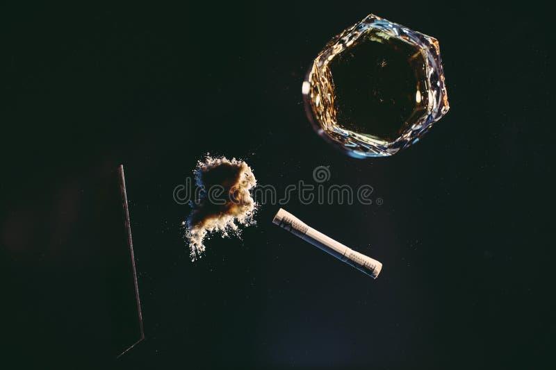 Toxicomanía fotos de archivo