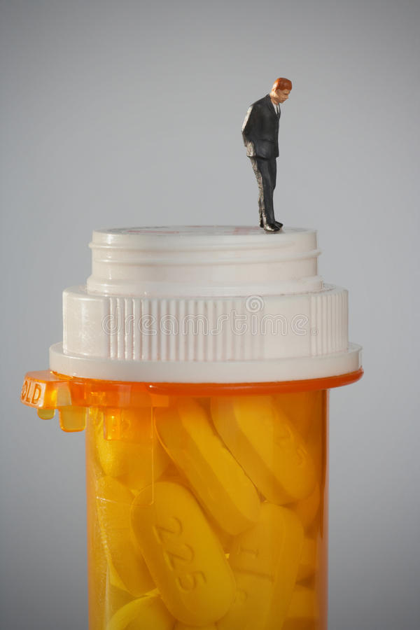 Toxicomanie photo libre de droits