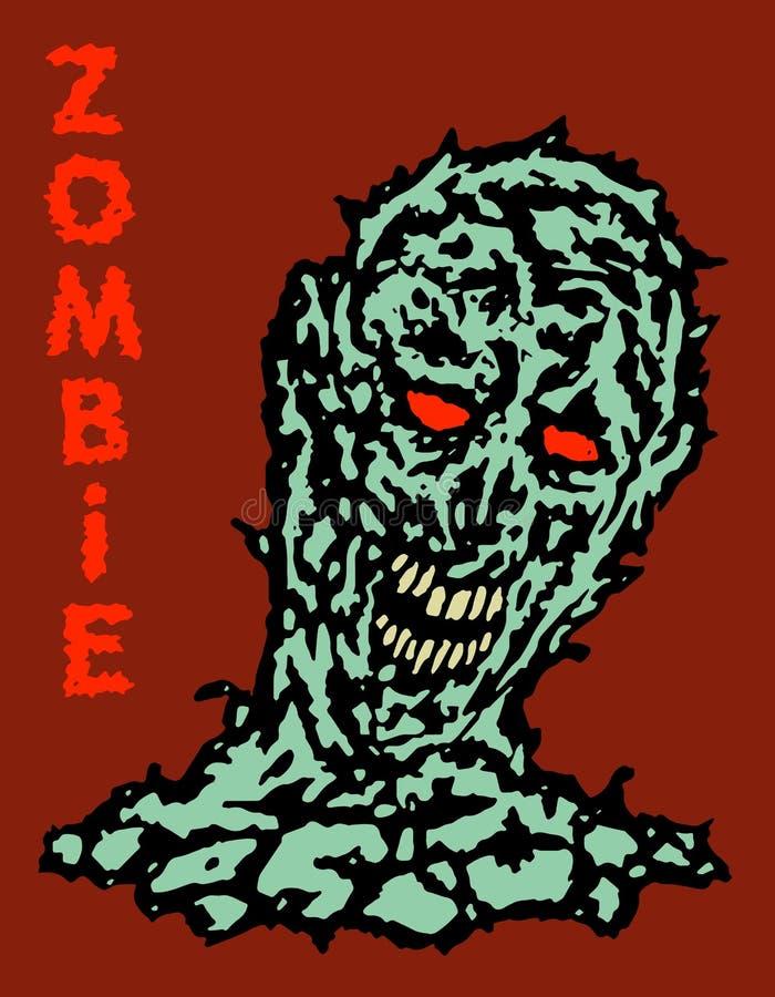Toxische Substanz wieder belebt von einem toten Monster Auch im corel abgehobenen Betrag lizenzfreie abbildung